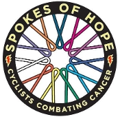Spokes of Hope Vinyl Sticker