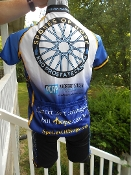 Blue Prostate Cancer Short Sleeve Jersey