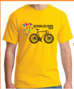 Limited quantity 2014 Spokes of Hope T-Shirt